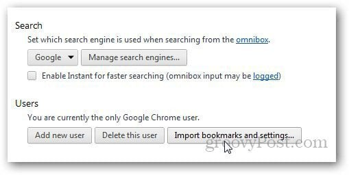 Transfer Bookmarks Firefox 7