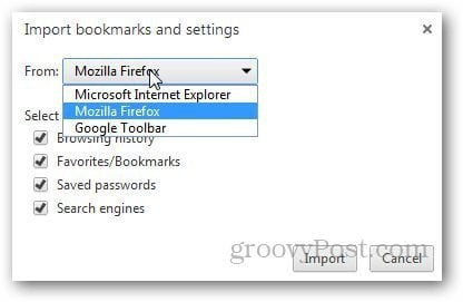 Transfer Bookmarks Firefox 8