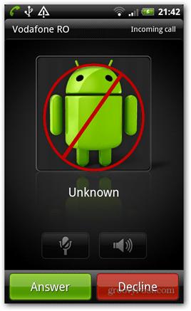 android block calls