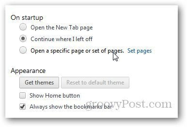How to Open Specific Websites Automatically At Startup in Chrome