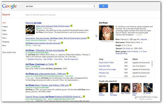 google search axl rose wiki