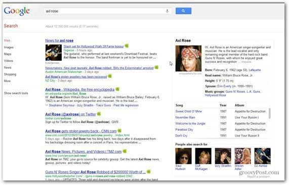 google search axl rose wiki