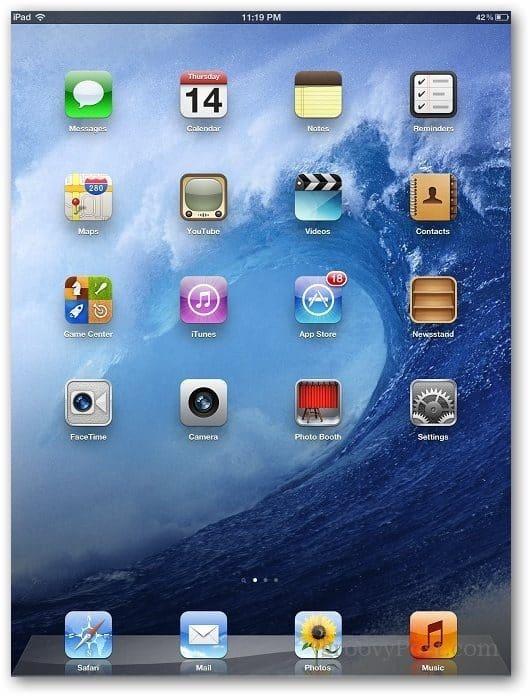 iPad Autocorrection 1