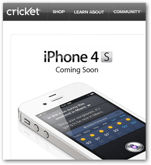 iphone 4s for cricket