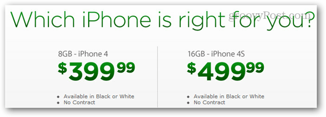 cricket iphone 4 pricing