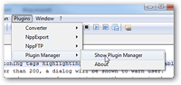 notepad++ plugin manager