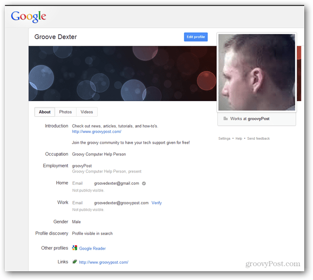 google plus profile retained after deletion