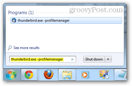 thunderbird profile manager
