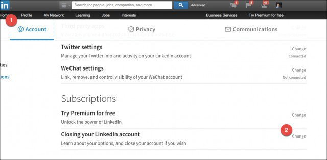 Linkedin Account Löschen how to permanently delete your linkedin account