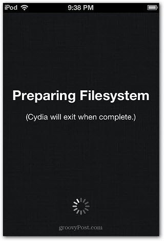perparing File System