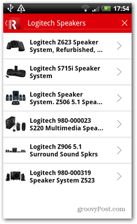 redlaser logitech speakers