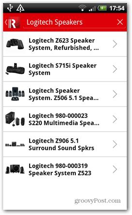 redlaser logitech speakers