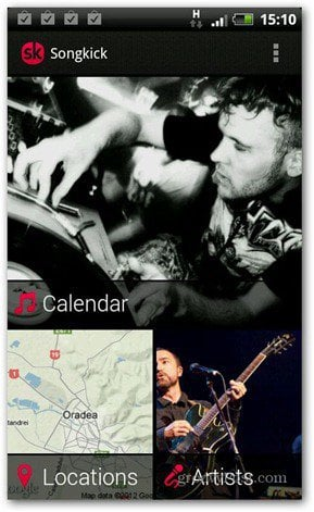 songkick android app