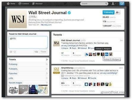 twitter wall street journal time