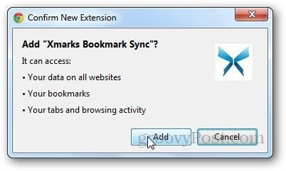 xmarks Chrome 3