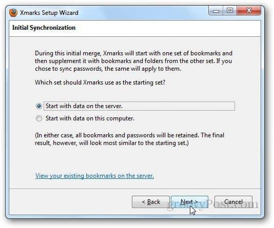 xmarks Firefox 8