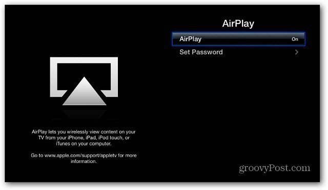AirPlay Enabled Apple TV