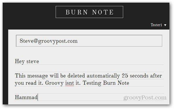 Burn Note 7
