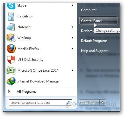 How To Change Default Web Browser In Windows 7