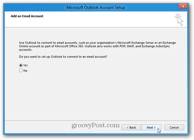 Configure Account