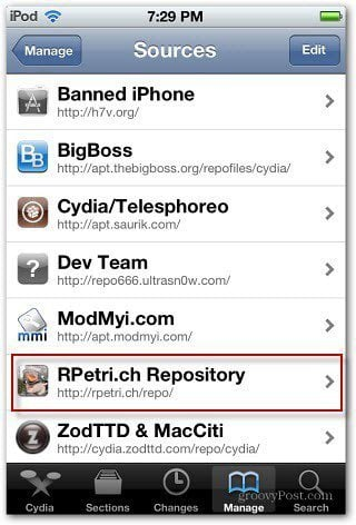 Cydia Source