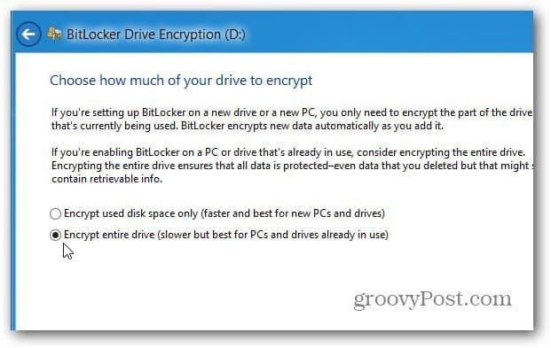 Encrypt Disk