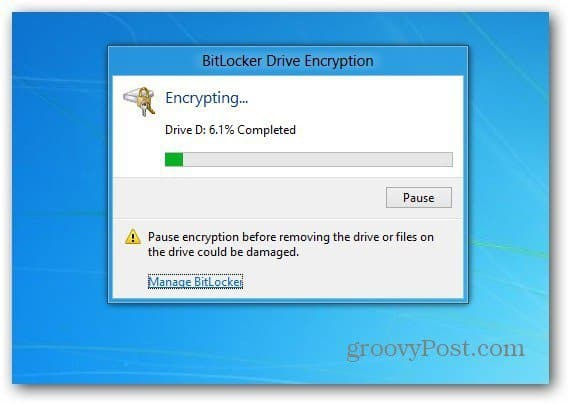 Encrypting Progress