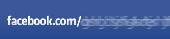 facebook custom username url profile