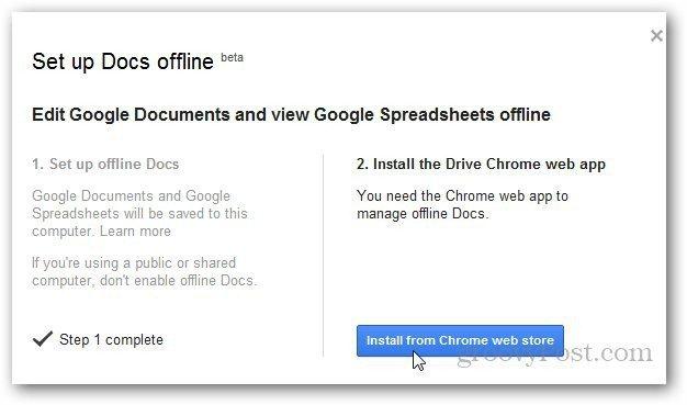 Google Docs Offline 2