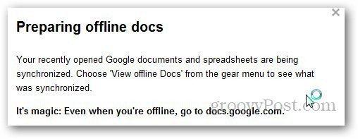 Google Docs Offline 5