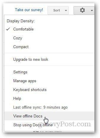 Google Docs Offline 6