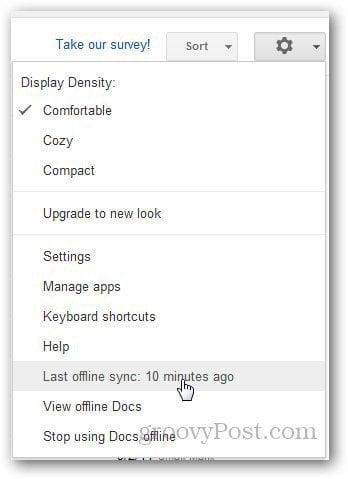 Google Docs Offline 7
