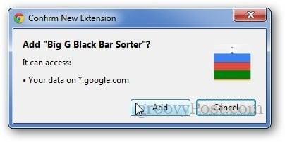 Google Navigation Bar 2