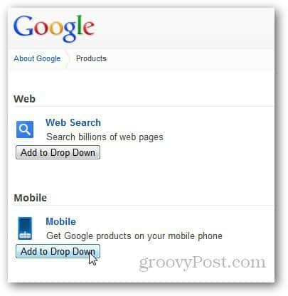 Google Navigation Bar 6