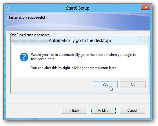 Install auto login