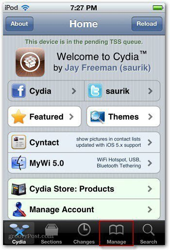 Launch Cydia_Manage