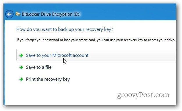 Recovery Key