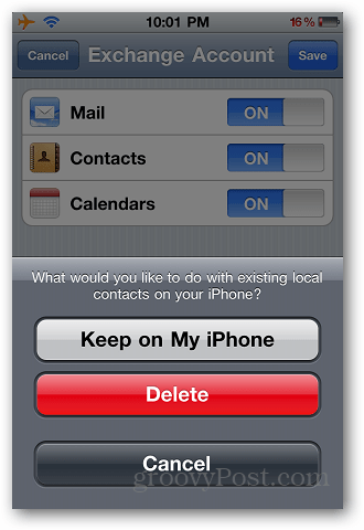 Transfer Contacts iPhone 6