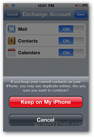 Transfer Contacts iPhone 7