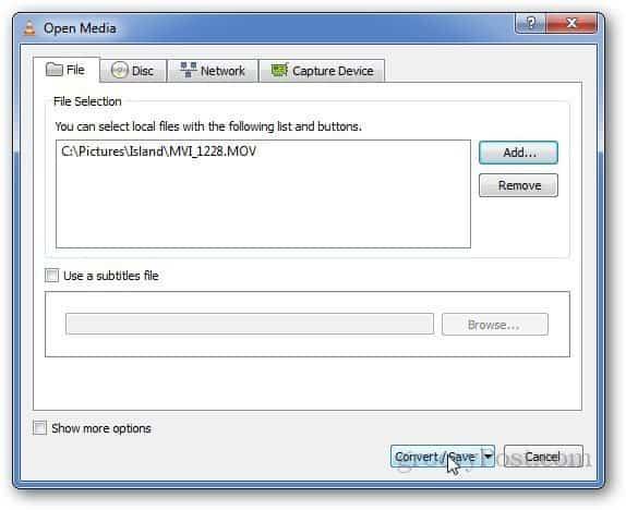 VLC Player Convert 4