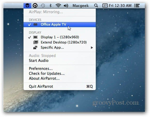 airparrot Mac