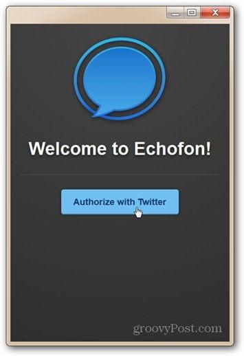 echofon first start