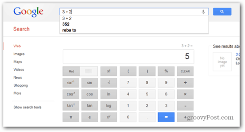 google scientific calculator voice activated