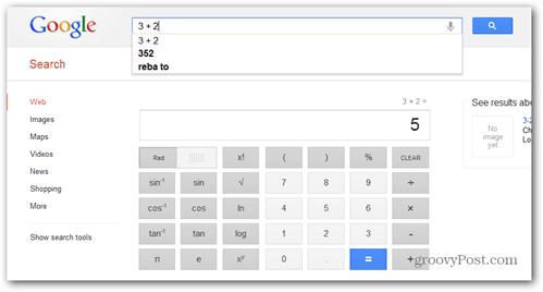 google scientific calculator voice activated