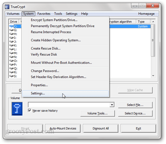 Adding fake error message in TrueCrypt