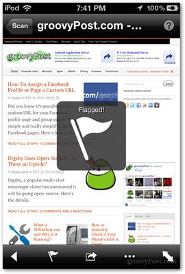 flagged tag website url tag microsoft ios apps application