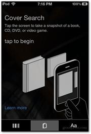 cover search screen info microsoft ios bing