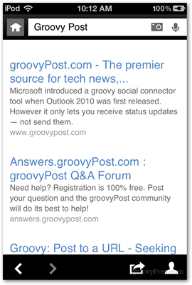 results voice search bing groovypost groovy post pictures hd format features microsoft ios apps applications app bing