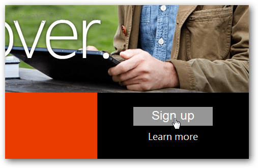 sign up for office 2013 preview