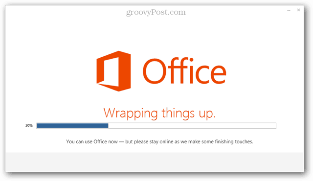wrapping up office 2013 and 365 installation